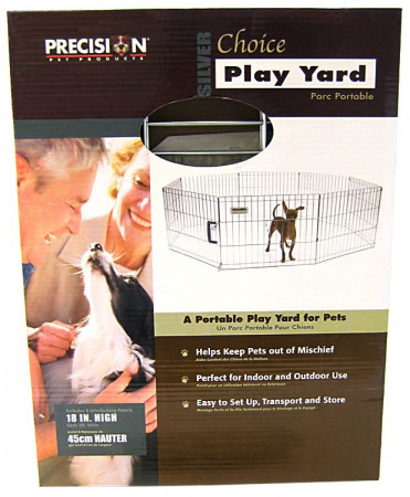 Precision Pet Silver Choice Play Yard Exercise Pen - SXP Model alternate img #1