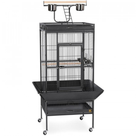 Prevue Select Bird Cage - Black alternate img #1