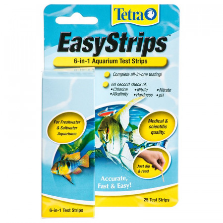 Tetra Easystrips 6-in-1 Aquarium Test Strips alternate img #1