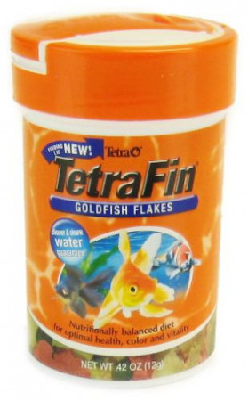 TetraFin Goldfish Flakes alternate img #1