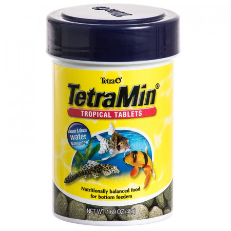 TetraMin Tropical Tablets Fish Food for Bottom Feeders alternate img #1