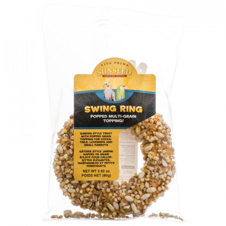 Vitakraft Vita Prima Sunseed Swing Ring Bird Treat - Popped Multi Grain alternate img #1