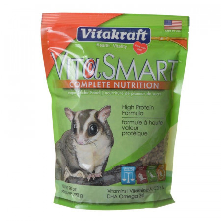 Vitakraft VitaSmart Complete Nutrition Sugar Glider Food alternate img #1