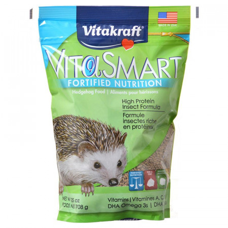 Vitakraft VitaSmart Hedgehog Food - High Protein Insect Formula alternate img #1