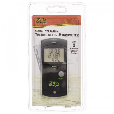 Zilla Digital Terrarium Thermometer-Hygrometer alternate img #1