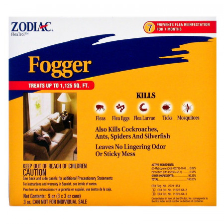 Zodiac Flea & Tick Fogger alternate img #1