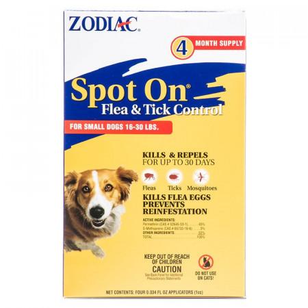 Zodiac Spot On Flea & Tick Control for Small Dogs alternate img #1