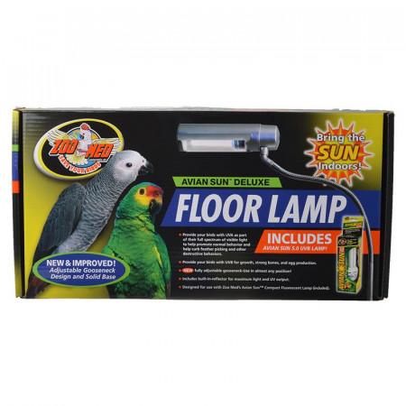 Zoo Med Avian Sun Deluxe Floor Lamp with 5.0 UVB Lamp alternate img #1
