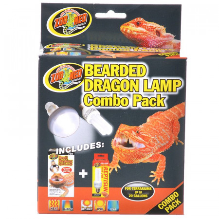 Zoo Med Bearded Dragon Lamp Combo Pack alternate img #1