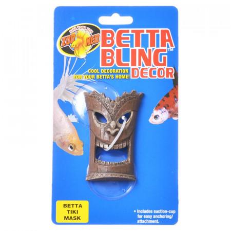 Zoo Med Betta Bling Decor - Tiki Mask alternate img #1