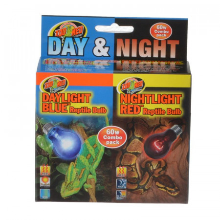 Zoo Med Day & Night Reptile Bulb Combo Pack alternate img #1