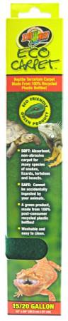 Zoo Med Eco Carpet Reptile Terrarium Carpet Green alternate img #1