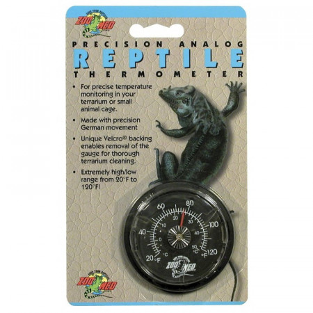Zoo Med Precision Analog Reptile Thermometer alternate img #1