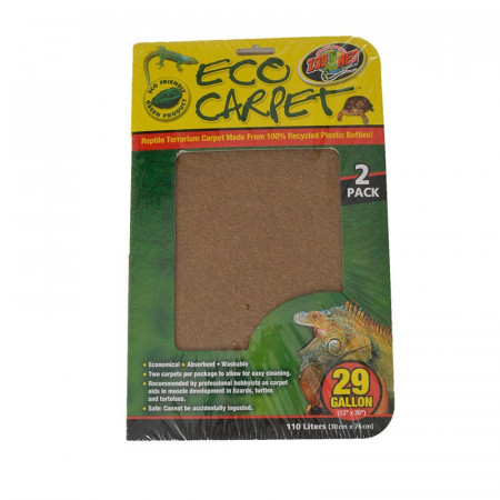 Zoo Med Reptile Eco Carpet Green or Brown alternate img #1