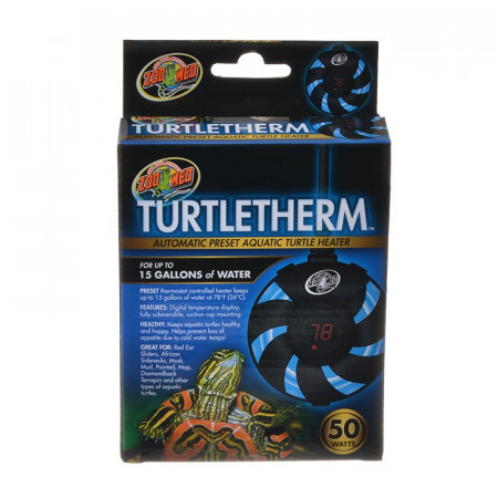Zoo Med Turtletherm Automatic Preset Aquatic Turtle Heater alternate img #1