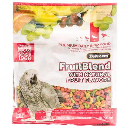ZuPreem FruitBlend Flavor Bird Food for Parrots & Conures alternate img #1
