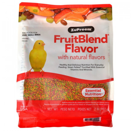 ZuPreem FruitBlend Flavor Bird Food for Very Small Birds alternate img #1