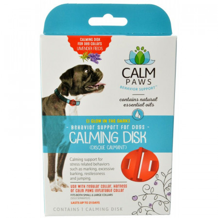 Calm Paws Calming Disk for Dog Collars alternate img #1