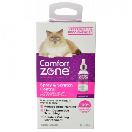 Comfort Zone Spray & Scratch Control Spray for Cats & Kittens alternate img #1