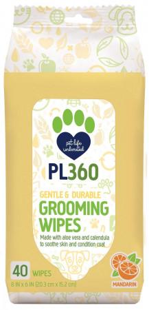 PL360 Grooming Wipes - Mandarin Scent alternate img #1