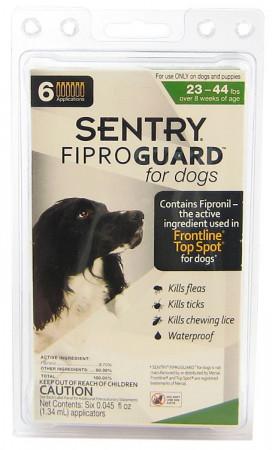 Sentry FiproGuard for Dogs - Medium alternate img #1