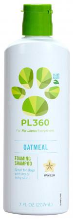 PL360 Oatmeal Foaming Shampoo - Vanilla Scent alternate img #1