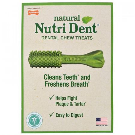 Nylabone Nutri Dent Natural Fresh Breath Dental Chew Treats - Medium alternate img #1