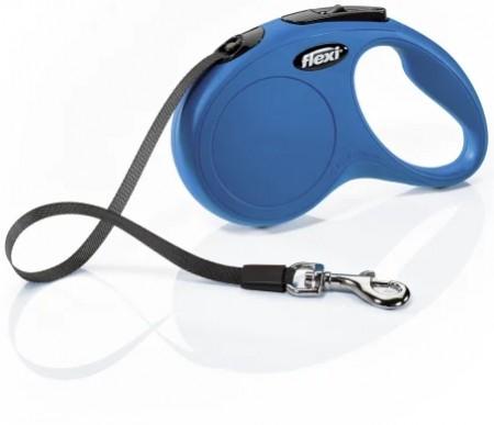 Flexi New Classic Retractable Tape Leash - Blue alternate img #2
