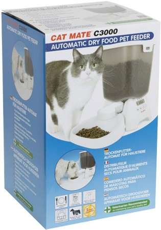 Cat Mate C3000 Automatic Dry Food Pet Feeder alternate img #2