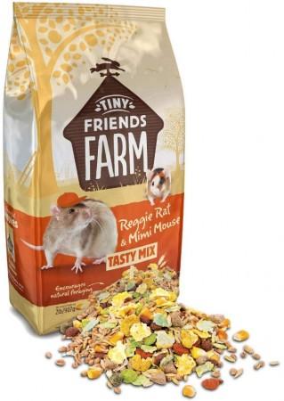 Supreme Tiny Friends Farm Reggie Rat & Mimi Mouse Tasty Mix Food alternate img #2