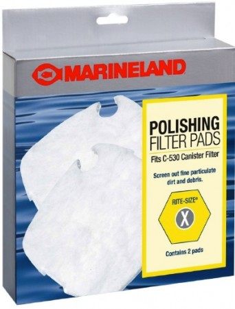 Marineland Polishing Filter Pads for Canister Filters Rite-Size X alternate img #1