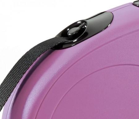 Flexi Classic Pink Retractable Dog Leash alternate img #3