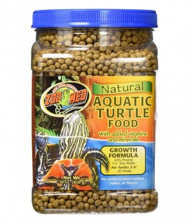 Zoo Med Aquatic Turtle Growth Food Formula alternate img #1