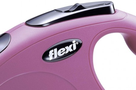 Flexi Classic Pink Retractable Dog Leash alternate img #2