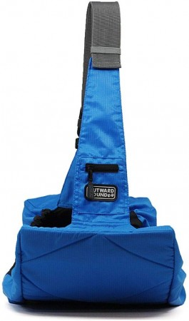 Outward Hound Pooch Pouch Sling Pet Carrier Blue alternate img #4