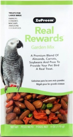 ZuPreem Real Rewards Garden Mix Treats for Large Birds alternate img #1