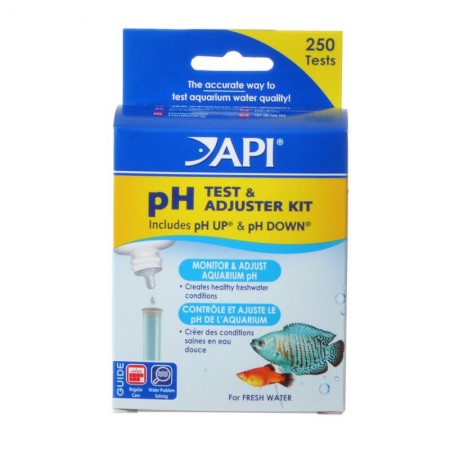 API pH Test and Adjuster Kit for Freshwater Aquariums alternate img #1