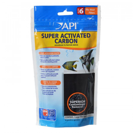 API Super Activated Carbon - Size 6 alternate img #1