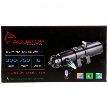 Aquatop Eliminator In-Line UV Sterilizer alternate img #1