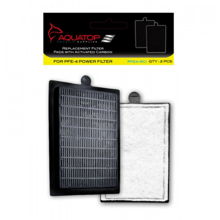 Aquatop Replacement Filter Pads with Activated Carbon alternate img #1