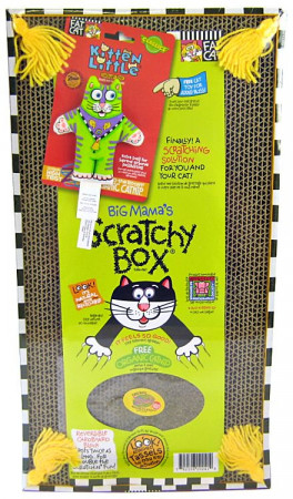 Fat Cat Big Mama S Scratchy Box Double Wide