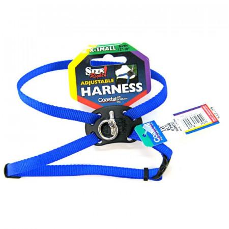 Coastal Pet Size Right Nylon Adjustable Pet Harness - Blue alternate img #1
