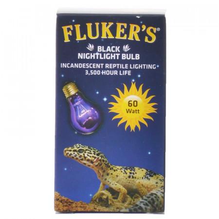 Flukers Black Nightlight Bulb Incandescent Reptile Light alternate img #1