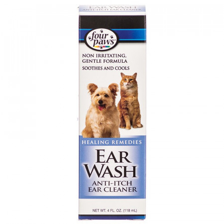 Four Paws Ear Wash Anti-Itch Ear Cleaner alternate img #1