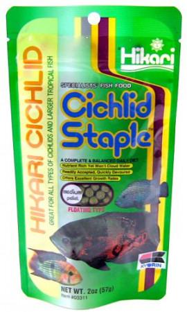 Hikari Cichlid Staple Floating Medium Pellet Food alternate img #1