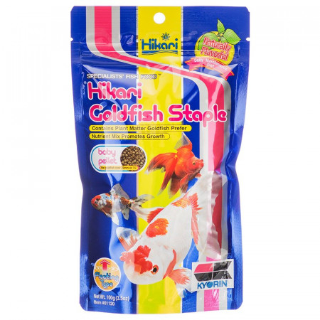 Hikari Goldfish Staple Floating Baby Pellet Food alternate img #1