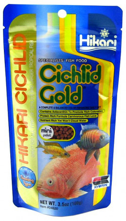 Hikari Sinking Cichlid Gold Mini Pellet Food alternate img #1