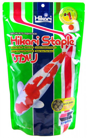 Hikari Staple Floating Large Pellet Koi Food alternate img #1