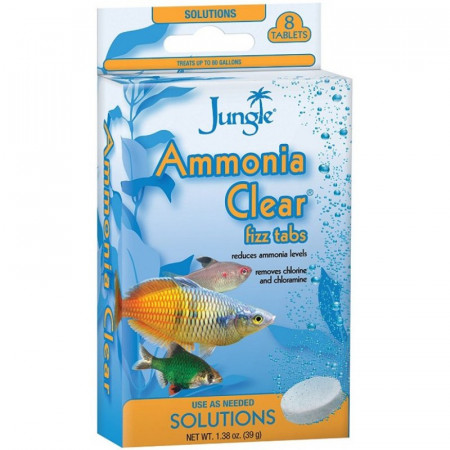 Jungle Labs Ammonia Clear Fizz Tabs alternate img #1