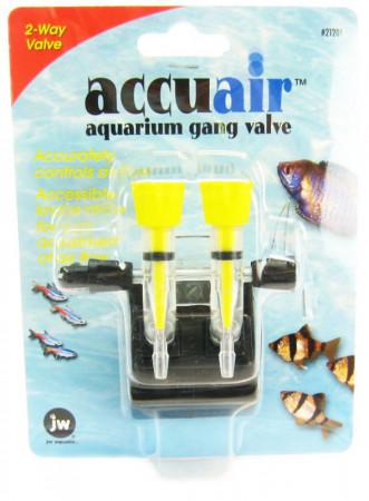 JW Fusion Accuair 2 Way Aquarium Gang Valve alternate img #1